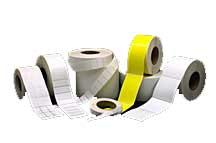 Microstyr etiketter på rulle